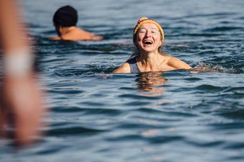 Eisschwimmen ist eine, wenn auch eher unkonventionelle Art, sich und sein Immunsystem abzuhärten.vn/sams