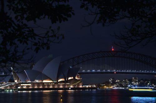 Erstmals gingen die Lichter 2007 im australischen Sydney aus. AFP