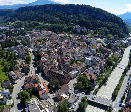 Feldkirch nimmt die Herausforderungen, die der Klimawandel mit sich bringt, an. Mit Kampagnen und Aktionen setzt die Stadt ein Zeichen. VN/Lerch