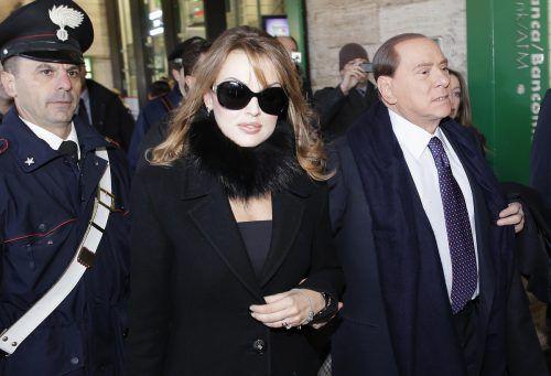 Silvio Berlusconi und Francesca Pascale waren zehn Jahre ein Paar. rTS