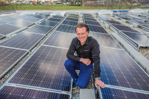 Mathias Muther hat mit Aerocompact den Markt für Photovoltaik-Befestigungssysteme revolutioniert und ist damit weltweit erfolgreich. VN/Steurer