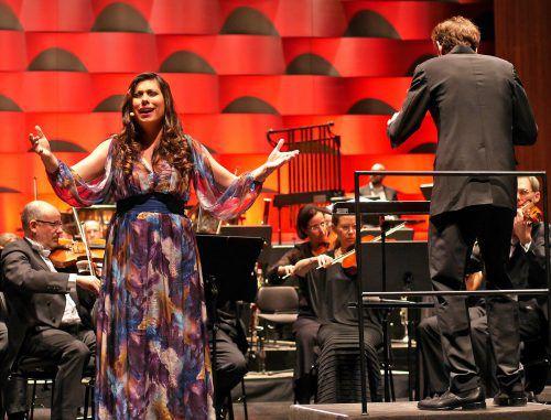 Flamenco-Sängerin María José Pérez begeisterte das Publikum. chv
