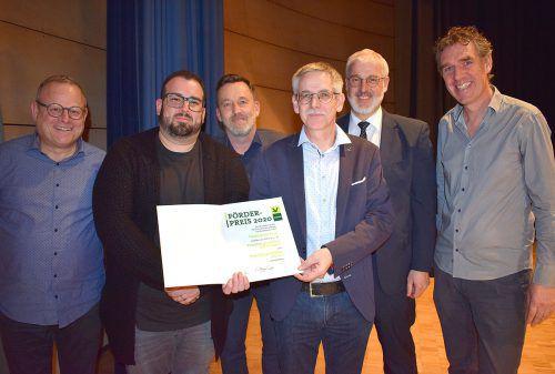"""Förderpreis für die Jugendprojektchöre Am Kumma und """"raise your voice"""". CCV/Motter"""