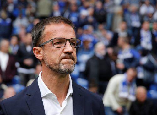 Frankfurts Vorstand Fredi Bobic hofft auf eine Wiederaufnahme des Spielbetriebs.Reu
