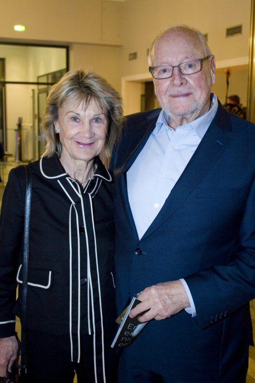 Frenzi und Kurt Schneider waren unter den Besuchern. Franc