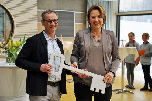 Für Direktor Jürgen Sprickler geht mit der neuen Schule ein Traum in Erfüllung. LCF