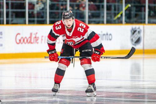 Das Dress der Ottawa 67's ist für Marco Rossi Vergangenheit.Wutti/Blitzen