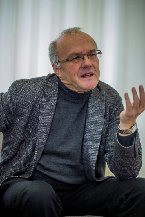 Für Reinhard Haller ist der jetzige Ausnahmezustand auch ein Einsamkeitstraining.