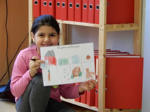 Fürs Malen lassen sich Kinder immer begeistern. Sie brauchen nur etwas Motivation.