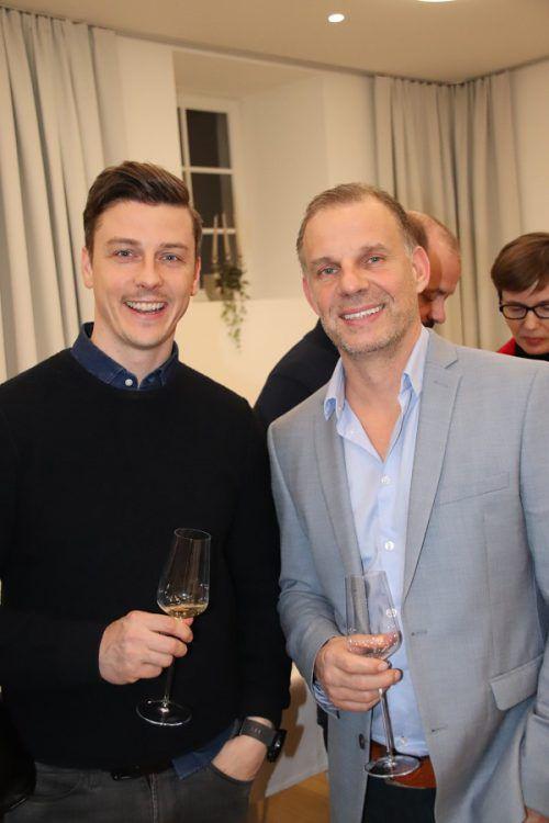Gäste-Duo: Walter Fröwis und Christian Muchitsch.