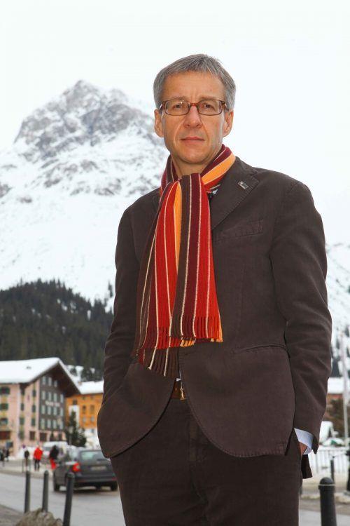 Gerhard Walter (Bild: in Lech), hat St. Moritz-Tourismus geklagt. VN/HB