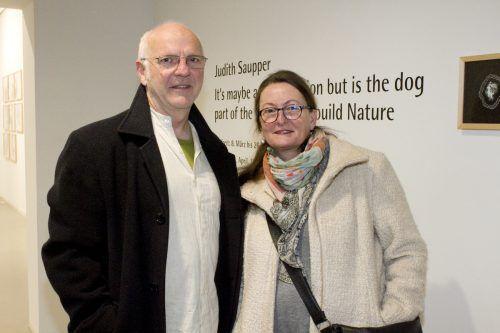 Gernot und Autorin Gabriele Bösch.