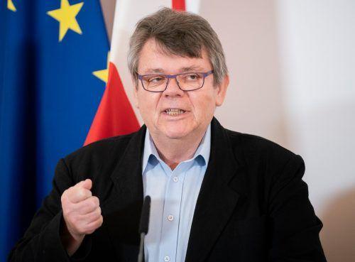 """Gewerkschaftschef Wolfgang Katzian: """"Es geht jetzt um die Schicksale vieler Menschen, um ihre individuellen Fragen zur Arbeit.""""APA"""