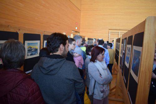 Großes Interesse an der Bertel-Ausstellung in Langenegg.