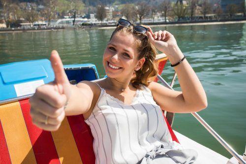 Gute Nachricht für alle Bootsbesitzer am See: Sie dürfen weiter raus. Aber nur allein oder mit Personen aus dem Haushalt. Es wird aber davon abgeraten.