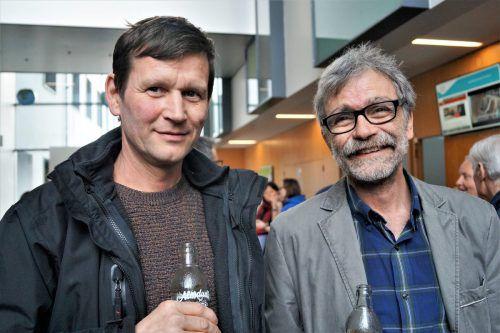 Harald Keckeis (Hochbau) und Elmar Diem waren gekommen.