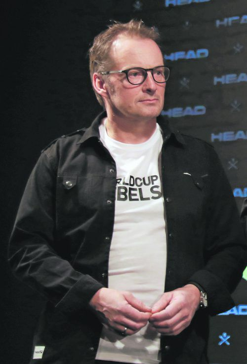 Head-Rennsportleiter Rainer Salzgeber ist mit der Weltcupsaison zufrieden.gepa