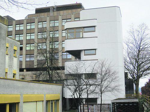 Heute Fluchtweg, früher Zugang zu Isolierstationen: Infektionsturm beim Stadtspital.HA