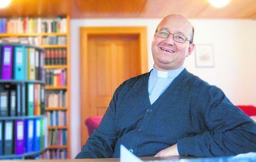 Hubert Ratz, Pfarrer in Hittisau.KATH.