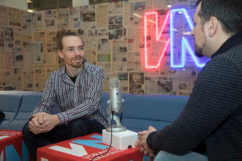 Im Podcast spricht Tobias Giesinger ausführlich über weitere Themen. VN/RP