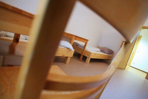 In der Caritas Notschlafstelle in Feldkirch gibt es jetzt auch ein Quarantäne-Bett.VN