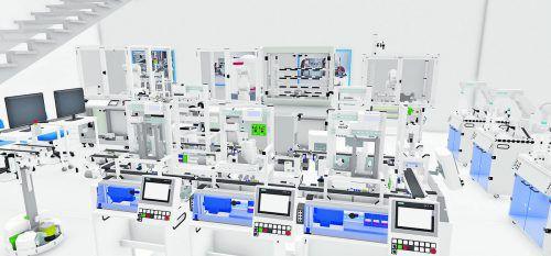In der Digitalen Lernfabrik werden künftig Fachkräfte in den Schlüsseltechnologien der Zukunft qualifiziert. Im Bild der geplante Stufensaal im WIFI Dornbirn.