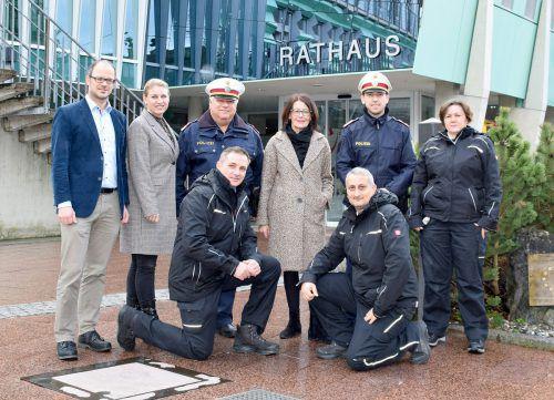 In Hard wurde die neue Gemeindepolizei präsentiert.