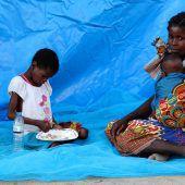 Mosambik leidet noch immer unter den Folgen der Zyklone