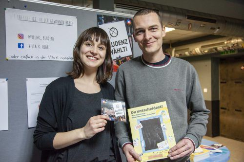 Jasmin Wachter und Marco Wagner stellten ein spannendes Wahlprojekt auf die Füße. MEL