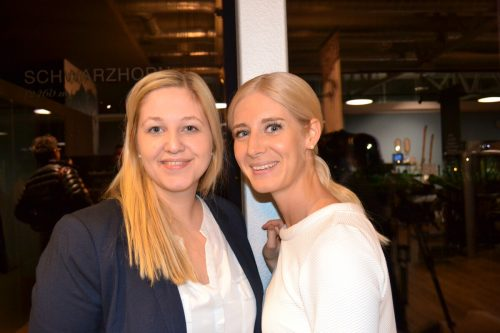 Julia Nusser und Franziska Österle waren mit dabei.