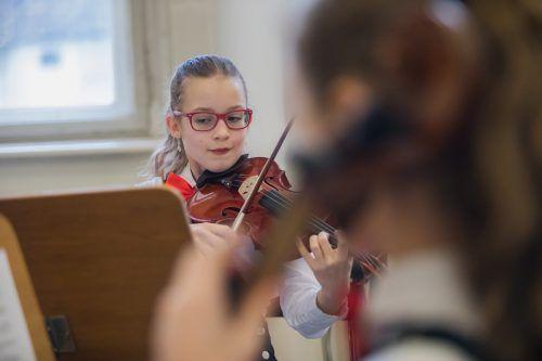 Junge Musikerinnen und Musiker treten von Mittwoch bis Freitag beim Landeswettbewerb Prima la musica in Feldkirch an.VN/PS
