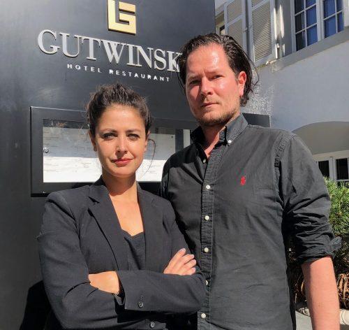 Klemens und Laura Banas ließen im Hotel Rollbalken nieder.