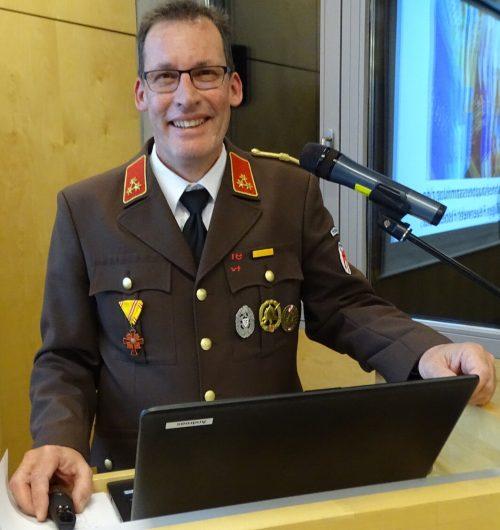 Kommandant Andreas Vogel zog eine positive Bilanz.