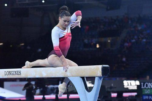 Kunsturnerin Elisa Hämmerle hat sich bei der Weltmeisterschaft in Stuttgart mit einem Nationen-Quotenplatz die Olympiateilnahme gesichert.Simone Ferraro