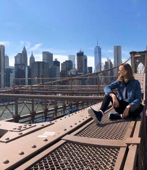 """Laura Bilgeri hat New York vorerst verlassen. """"Derzeit sind alle Filmaktivitäten eingestellt."""""""