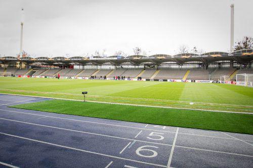 Leere Ränge im Linzer Stadion werden beim Match zwischen LASK und Manchester United zwangsweise für eine gespenstische Atmosphäre sorgen.gepa