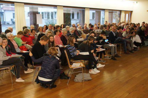 Leiblachtaler Pfarrgemeinden laden zum Glaubensforum 2020. bms