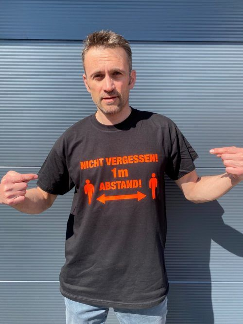 "Leserreporter Gerhard Wolfgang ""das einzig wahre T-Shirt. Eventuell kapieren es dann alle mal."""