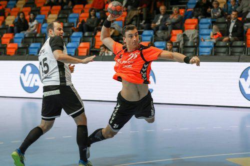 Lukas Herburger führt mit Kadetten Schaffhausen ganz klar die Tabelle der Swiss Premium League an.Verein