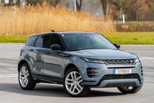Luxus im Kleinformat: Der Baby-Range Rover ist seinen kompakten Abmessungen treu geblieben.VN/Stiplovsek