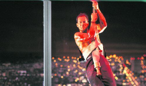 """Mit dem ersten """"Stirb langsam"""" wurde Bruce Willis 1988 berühmt. AP"""