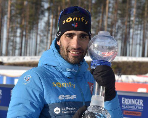 Mit Martin Fourcade beendet ein ganz Großer des Biathlon-Sports die Karriere.apa