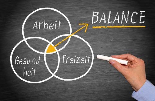 Mitunter gerät das Arbeitsleben aus der Balance und fordert einen hohen gesundheitlichen Tribut. Die Arbeitsmedizin greift dann helfend ein.adobe