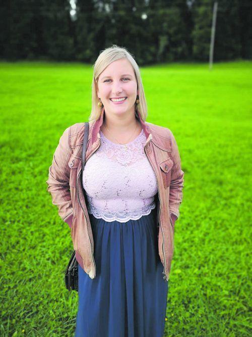 Mona Pexa, Jugendprojekt- und Zivildienerbeauftragte der Jungen Kirche.