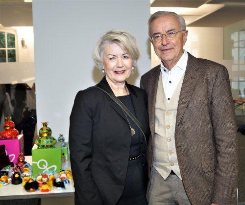 NfK-Botschafterin Ilga und Alt-LH Herbert Sausgruber.