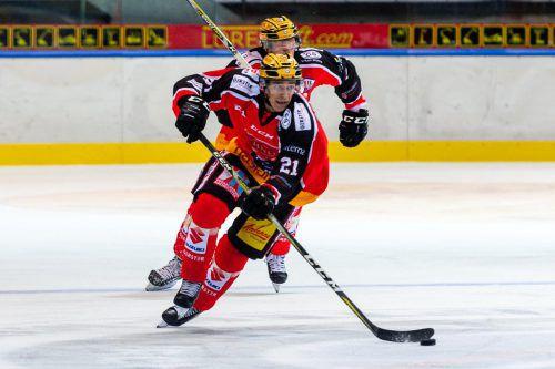 Niklas Gehringer verbuchte für die VEU ein Tor und vier Vorlagen. Stiplovsek