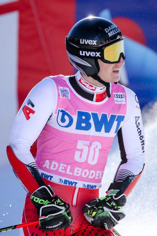 Patrick Feurstein wird in Hinterstoder wieder um Weltcuppunkte fahren.gepa