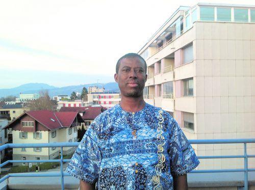 Patrick Kofi Kodom, Steyler Missionar, Migranten-, Flüchtlings- und Gefängnisseelsorger in der Justizanstalt Feldkirch und der Außenstelle Dornbirn.