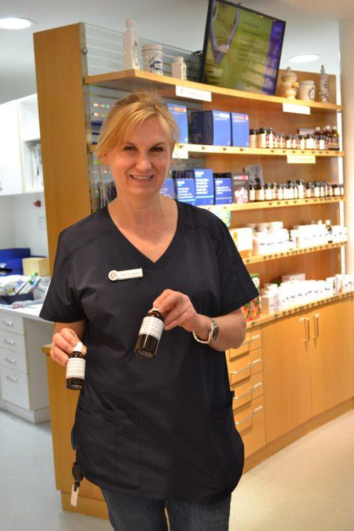 Petra Ertl-Vallaster und ihre pharmazeutische Expertise ist gefragt. BI