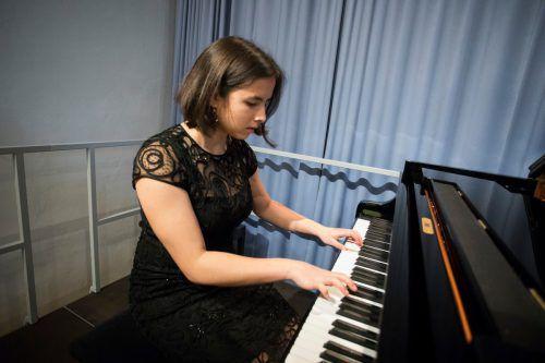 Pianistin Raffaela Witzemann.